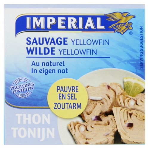 Tonijn Dieet Yellowfin In Eigen Nat