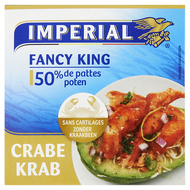 Le Fancy King Crabe